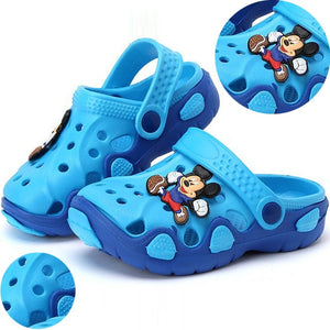 Kids Slippers for Boys Girls Cartoon Shoes 2019 Summer Toddler Flip Flops Baby Indoor Slippers Beach Swimming Slippers - MBMCITY