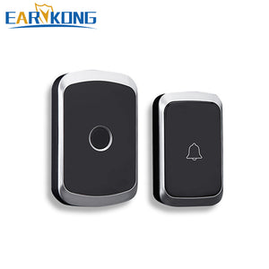 Intelligent Wireless Doorbell Home Welcome Doorbell Waterproof 300m Remote smart Door Bell Chime EU UK US Plug Optional.
