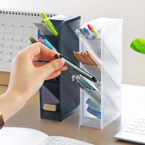 Home office Storage  Multifunction Desktop Debris Storage Organizer desk organiser Box For Pen, Makeup Brush organizery TDH.