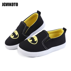 2020 Sports Shoes Kids Shoes Exclusive Super Heroes Batman Design For Boys Girls Toddler Boy Soft Sneakers Slip-on Loafers Flats - MBMCITY