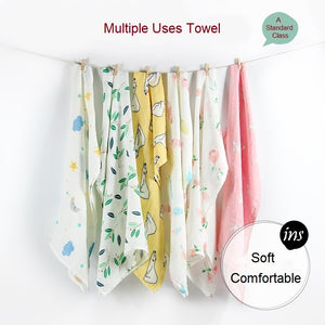 Newborn Blankets Bamboo Bath Baby Swaddle Kids Muslin Organic Cotton Fabric Super Soft Stuff Girls Burp Cloth Towel Monthly Wrap.