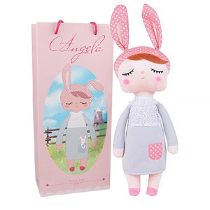 Boxed Metoo Doll kawaii Plush Soft Stuffed Plush Animals Baby Kids Toys for Children Girls Boys Birthday Christmas Angela Rabbit - MBMCITY