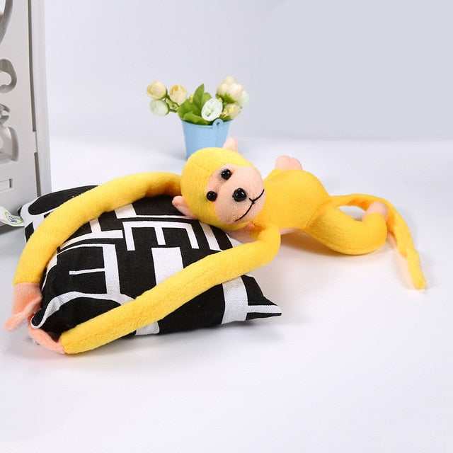 60cm Long Arm Monkey Cute Plush Toys Kawaii Baby Sleeping Appease Doll Plush Animal Toy Home Decoration Toy Kids Toddler Gift - MBMCITY