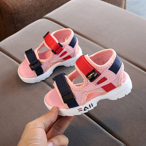 2020 summer new children's sandals baby toddler shoes girls beach shoes soft bottom non-slip boys sports sandals leisure 21-30 - MBMCITY