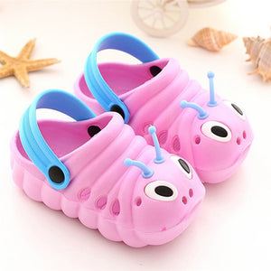 Animal Prints Toddler Kid Boys Girl Cute Cartoon Beach Non-slip Slippers Flip Shoes Infant Cartoon Flat Heels Solid Baby Shoe 70 - MBMCITY