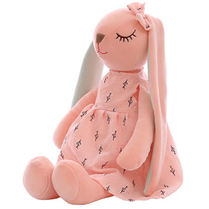 Cute Cartoon Long Ears Rabbit Doll Baby Soft Plush Toys For Children Rabbit Sleeping Mate Stuffed Plush Animal Toys Infants #30 - MBMCITY