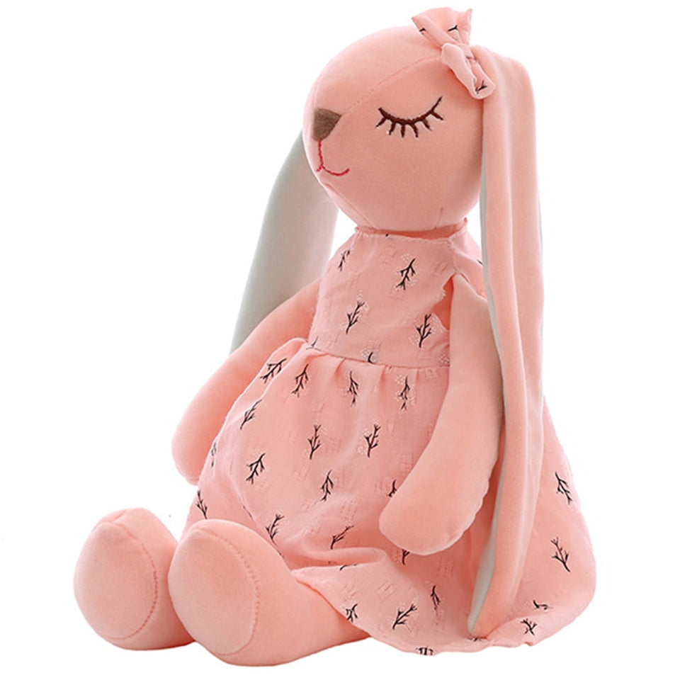Cute Cartoon Long Ears Rabbit Doll Baby Soft Plush Toys For Children Rabbit Sleeping Mate Stuffed Plush Animal Toys Infants #30