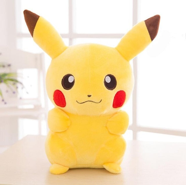 20cm high quality Pikachu Plush Toy Stuffed Toy Pikachu dolls Anime Toys for Children Doll for Kid Baby Birthday Gifts Anime - MBMCITY