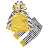 3PCS Sets Newborn Baby Boys Girls Clothes 2020 Summer Little Wizard Arrived Tops T-shirt+Halloween Pants+Hat Infant Baby Outfit - MBMCITY