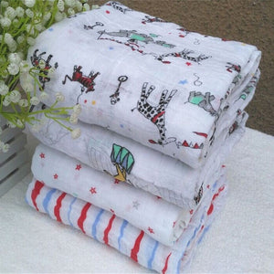 MBMCITY Multifunctional Envelopes For Newborns Receiving Blankets Bedding Infant Cotton Swaddle Towel Muslin Baby Blanket - MBMCITY