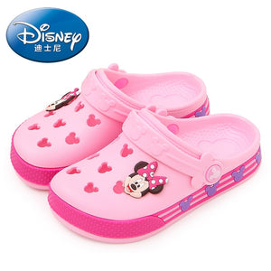 2019 Disney Minnie children's hole shoes Summer Boys and Girls Slippers Mickey Minnie children's Beach Shoes - MBMCITY