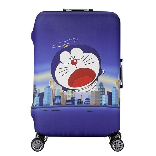 QIAQU Brand Travel Thicken Elastic Color Luggage Suitcase Protective Cover Apply to 18-32inch K / S