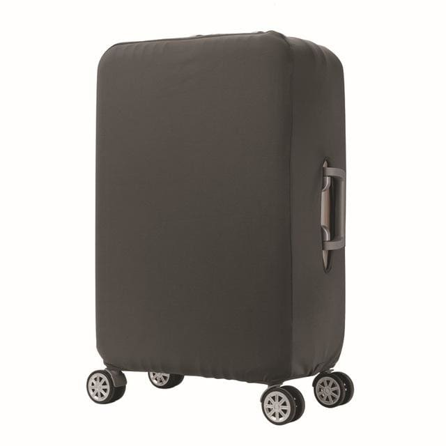 Qiaqu Brand Travel Thicken Elastic Color Luggage Suitcase Protective Cover Apply To 18-32Inch Gray / S