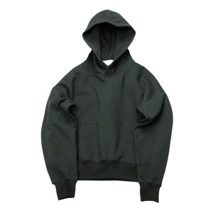 Qoolxcwear Very Good Quality Nice Hip Hop Hoodies With Fleece Warm Winter Mens Kanye West Hoodie Black Color / S