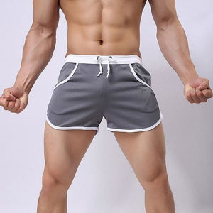 Quick dry Clothing Men's Casual Shorts Household Man Shorts G Pocket Straps Inside Trunks Beach