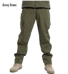 ReFire Gear Winter Shark Skin Soft Shell Tactical Military Camouflage Pants Men Windproof Waterproof - MBMCITY