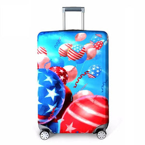 Rerekaxi Elastic Fabric Luggage Protective Cover Suitable18-32 Inch Trolley Case Suitcase Dust G / S