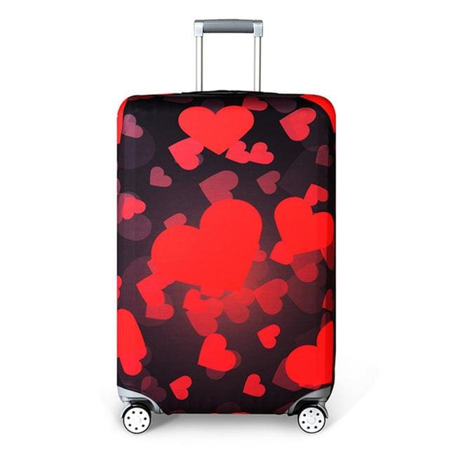 REREKAXI Elastic Fabric Luggage Protective Cover Suitable18-32 Inch Trolley Case Suitcase Dust I / S