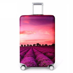 Rerekaxi Elastic Fabric Luggage Protective Cover Suitable18-32 Inch Trolley Case Suitcase Dust D / S