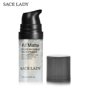 SACE LADY Face Primer Base Makeup Natural Matte Make Up Foundation Primer Pores Invisible Prolong
