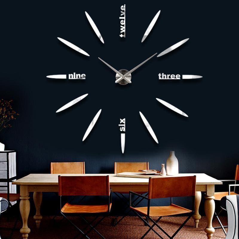 Sale New Wall Clock Clocks Watch Stickers Diy 3d Acrylic Mirror Home Decoration Quartz