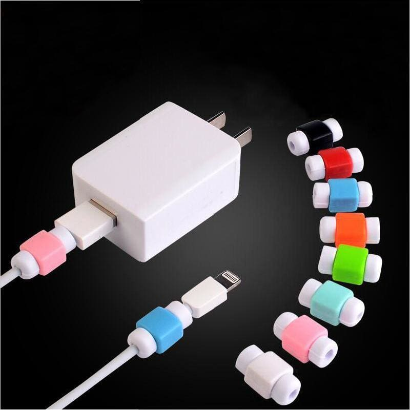 Simple Cute Cable Protector Data Line Cord Protector Protective Case Cable Winder Cover For iPhone