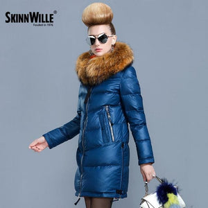 Skinnwille 2017 Ultra Light Women Down Jacket Women Down Winter Down Jacket Women Short Women Hooded 002 / L / China