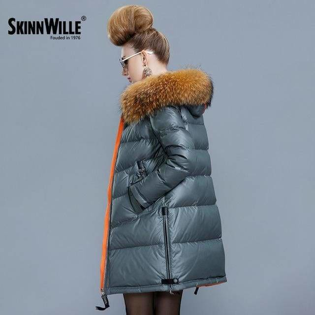skinnwille 2017 ultra light women down jacket women down winter down jacket women short women hooded 97 / L / China