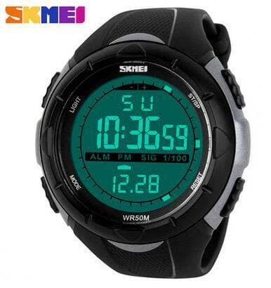 Skmei Brand 1025 Led Digital Mens Military Watch Men Sports Watches 5Atm Swim Climbing Fashion Titani