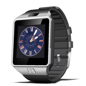 Smart Watch Clock With Sim Card Slot Push Message Bluetooth Connectivity Android Phone Better Than White