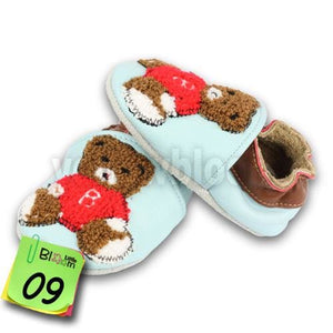 Soft Leather Baby Boys Girls Infant Shoes Slippers 0-6 6-12 12-18 18-24 New Style First Walkers 15 / 5