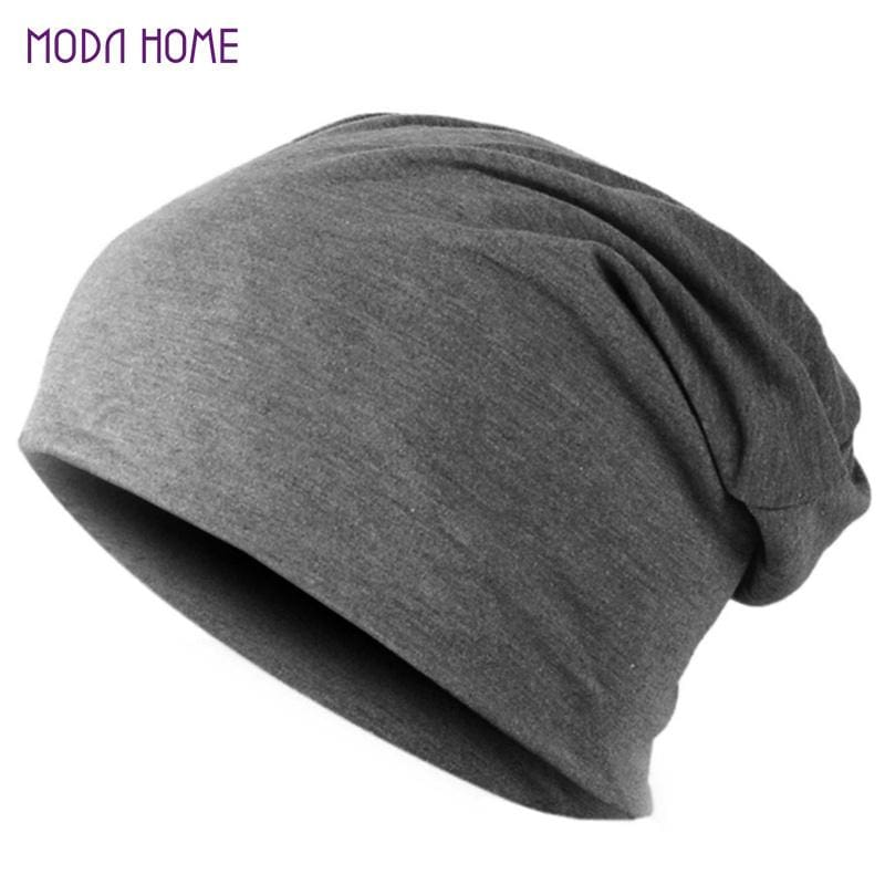 Spring Men Women Knitted Winter Cap Chapeu Casual Beanies for Men Solid Hip-hop Slouch Skullies - MBMCITY