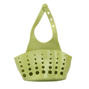 Storage Holder Racks 1 PC Portable Foldable Home Kitchen Hanging Drain Bag Basket Bath Storage Tools Green / 12x22cm / 1-tier