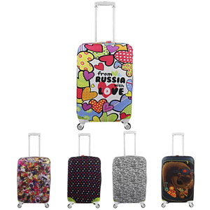 Suitcase Cases Travel Protective Covers For Suitcases Elastic Luggage Cover Protector Apply To 18-32