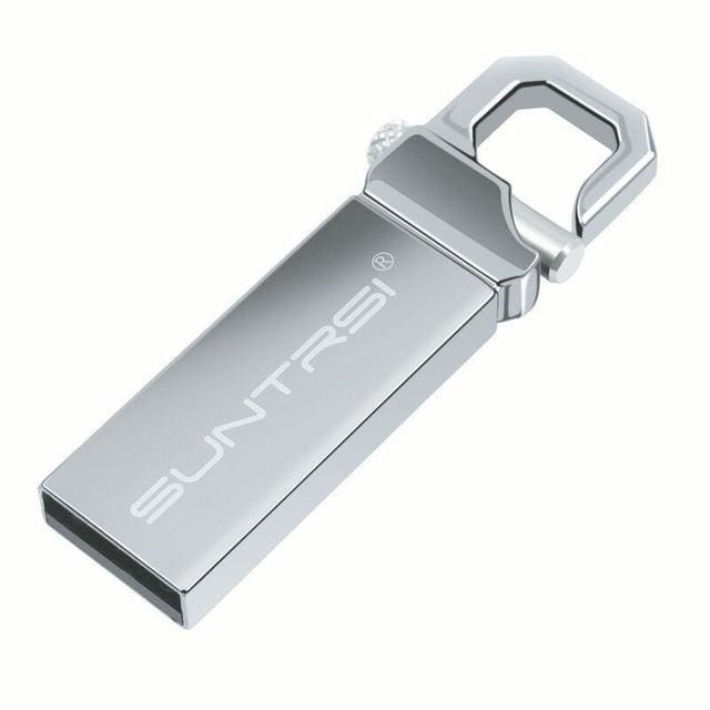 Suntrsi USB Flash Drive 64GB Metal Pendrive High Speed USB Stick 32GB Pen Drive Real Capacity 16GB - MBMCITY