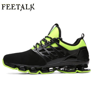 Super Cool breathable running shoes men sneakers bounce summer outdoor sport shoes Professional