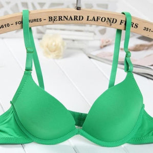 super push up bra for small breast young girls push up bra set women push up bra lace set sexy lady push up bra 9 / A / 32