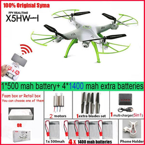 Syma X5HW  FPV RC Quadcopter Drone with Camera WIFI RC Quadcopter with FPV Camera  Real Time RC