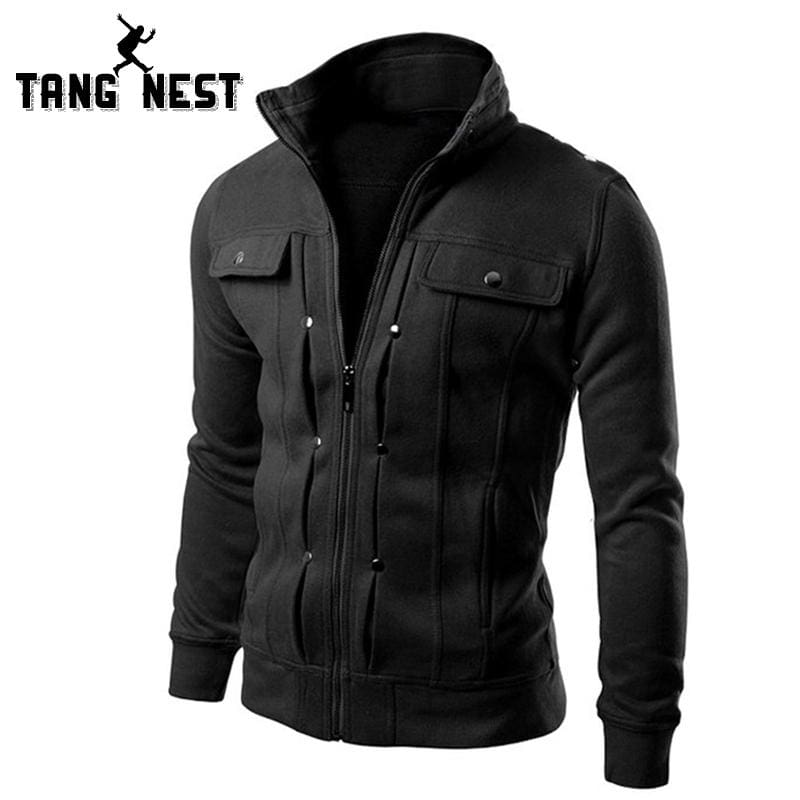 Tangnest Handsome 2017 Top Slim Men Sweatshirt Casual Men Tracksuits Comfortable Popular For Male 5