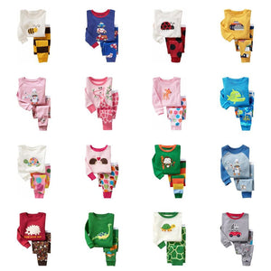 TINOLULING 21 design kids pajamas children sleepwear baby pajamas sets boys girls animal pyjamas - MBMCITY