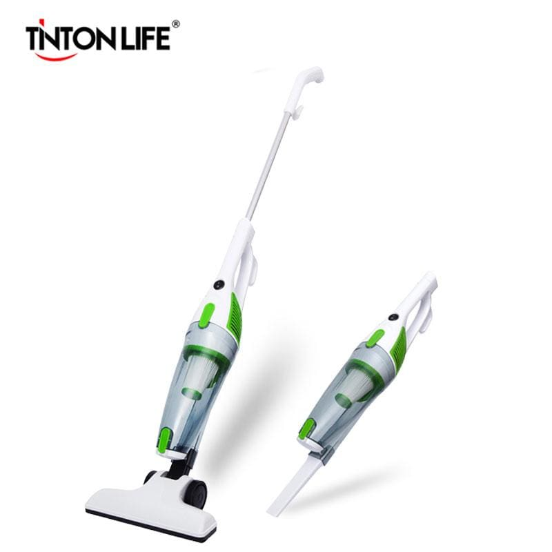 Tinton Life Ultra Quiet Mini Home Rod Vacuum Cleaner Portable Dust Collector Home Aspirator Handheld