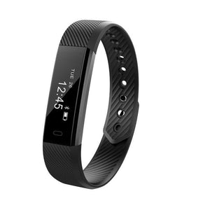 TK47 Smart Wristband Fitness Tracker Band Bluetooth Sleep Monitor Watch Sport Bracelet for ios Black