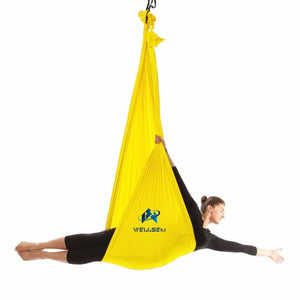 Top Quality Yoga Flying Swing Anti-Gravity Yoga Hammock Fabric Aerial Traction Device Fitness For