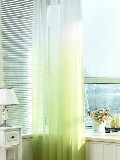 Tulle Curtains 3d Printed Kitchen Decorations Window Treatments American Living Room Divider Sheer