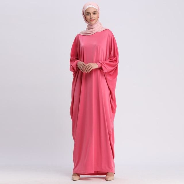 UAE Kaftan Abaya Dubai Arabic Islam Turkey Long Muslim Hijab Dress Abayas  For Women Turkish Islamic