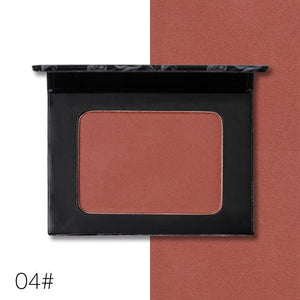 UCANBE Brand 5 Style Single Mineral Blush Makeup Palette Face Cheek Nude Natural Pressed Powder - MBMCITY