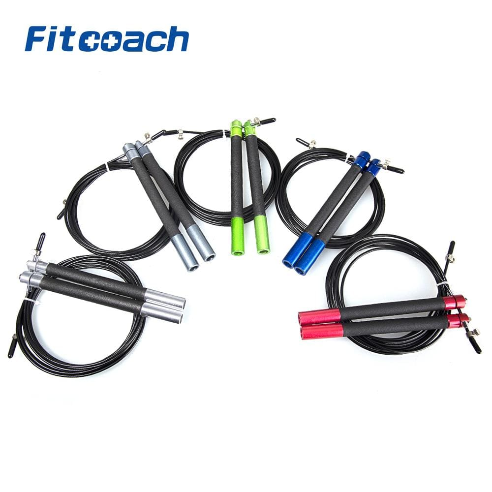 Uic-Jr15 Ball Bearing Skipping Rope Gym Surge Jump Rope Crossfit Fitness Equipment