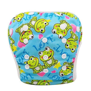 Unisex One Size Waterproof Adjustable Swim Diaper Pool Pant 10-40 Lbs Swim Diaper Baby Reusable Yk14 / One Size Adjustable