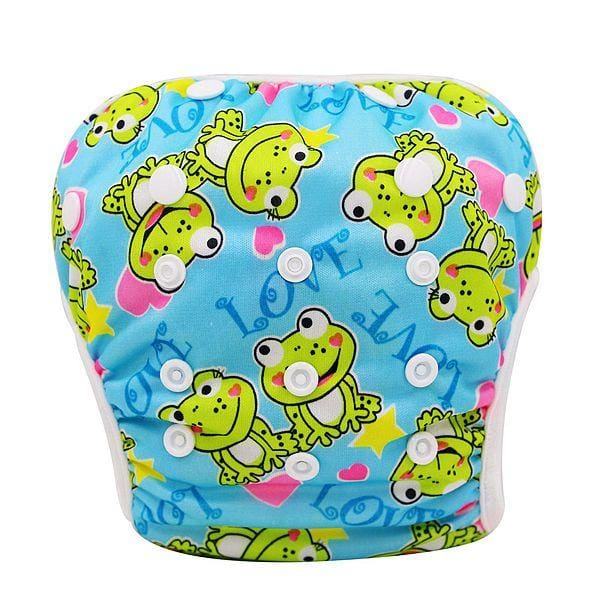 Unisex One Size Waterproof Adjustable Swim Diaper Pool Pant 10-40 Lbs Swim Diaper Baby Reusable Yk45 / One Size Adjustable