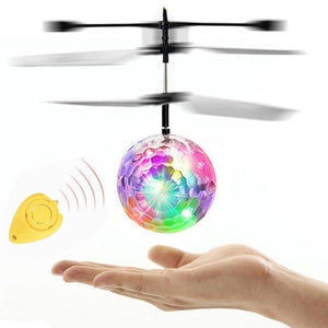 VICIVIYA RC Toy EpochAir RC Flying Ball RC Drone Helicopter Ball Built-in With Shinning LED Lighting without RC